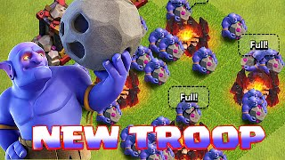 Clash Of Clans - NEW TROOP BOWLER!!! (Family of the goblin species!) Bowler Gameplay!