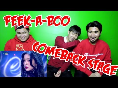RED VELVET - PEEK-A-BOO COMEBACK STAGE (FUNNY FANBOYS)
