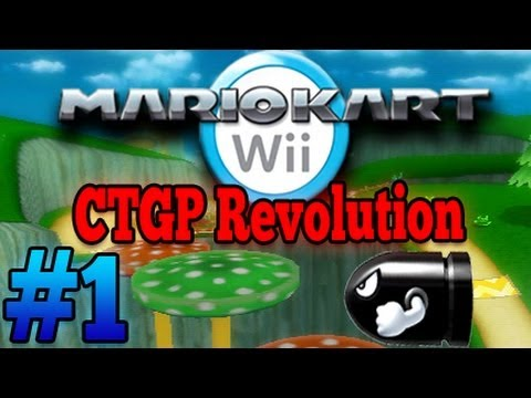Let's Play Mario Kart Wii CTGP Revolution - Part 1 - Kugelwilli-Cup