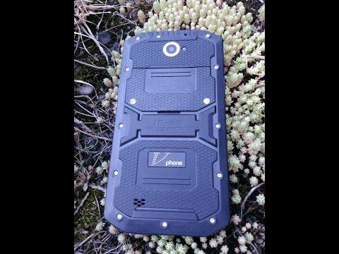 Обзор защищенного смартфона Vphone X3! Мощное железо в прочном корпусе!