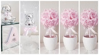 DIY | 3 QUICK AND EASY BABY SHOWER CENTERPIECES | 3 INEXPENSIVE DIYS