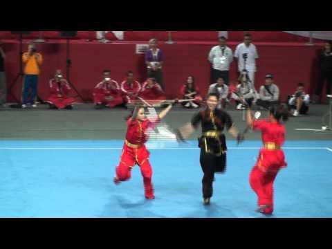 Wushu World Championships 2011 -  Duilian Female