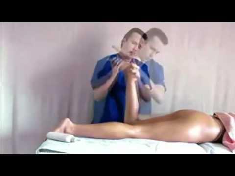 Видео как делать антицеллюлитный массаж