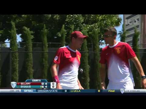 Men's Tennis: USC 2, UCLA 4 - Highlights (4/16/16)