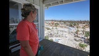 Tallahassee woman's home spared by Hurricane Michael