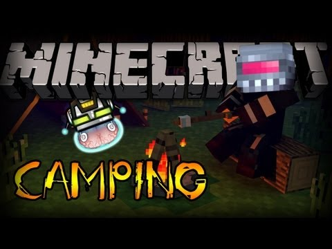 Minecraft: Camping Mod with THE HIGHLANDER!