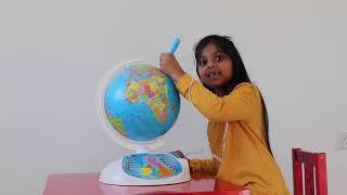 "Clementoni ""Explore the World! The Interactive Globe"" Toy"
