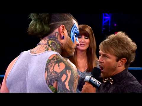 Dixie Carter Kicks Off Impact - But Jeff Hardy Wants Answers (december 26, 2013) video
