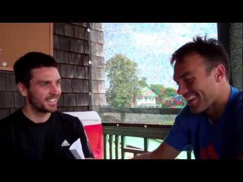15 Burning Questions with Colin Fleming and Quick Q & A with Ross Hutchins