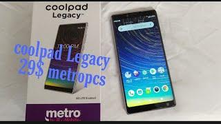 Coolpad legacy 29$ metro pcs wt#👀😃