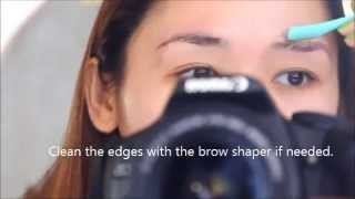 How to Groom and Shape Eyebrows All by Yourself