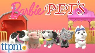 Barbie Pets Best In Show and Farm Playsets from Just Play