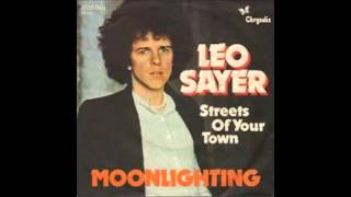 leo sayer....moonlighting