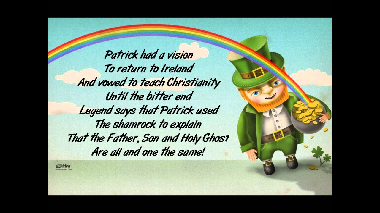 Saint patrick s day song youtube