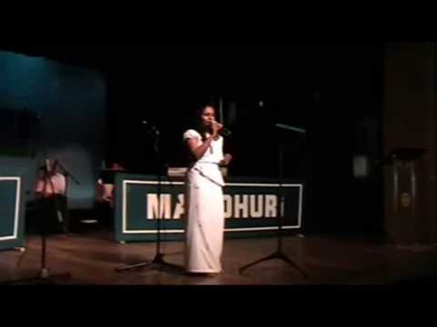 Aji Rooth Kar Ab Kahan Jaiye Ga - GEETH MADHURI MUSICAL SHOW...