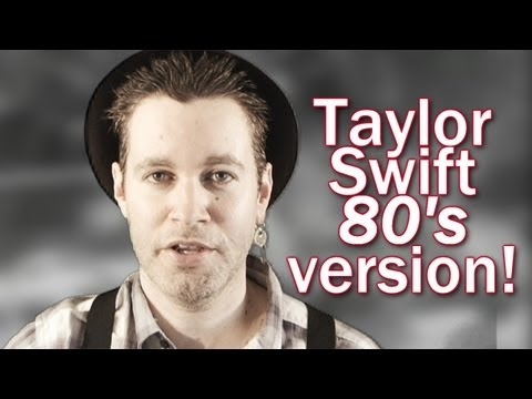 We Are Never Ever Getting Back Together - 80s style Taylor Swift cover