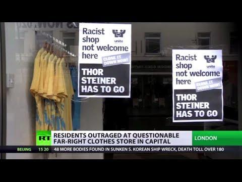 Fashionable Fascism? Fury as Nazi clothing shop opens in London