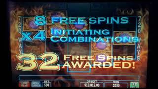 Fire Horse Slot Play Massive Bonus Round