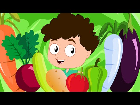 Vegetable Song For Children | Kids Songs And Videos