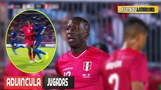 Luis Advncula 'BOLT' vs USA Lujos Pases Revancha a Timothy Weah 16102018 HD