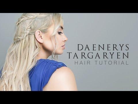 Daenerys Targaryen (Game Of Thrones) Halloween Hair Tutorial   Milk + Blush Hair Extensions