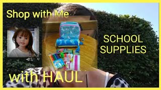 Back To School Shopping 4 Frankie & Haul
