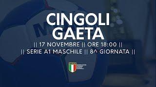Serie A1M [8^]: Cingoli - Gaeta 26-28