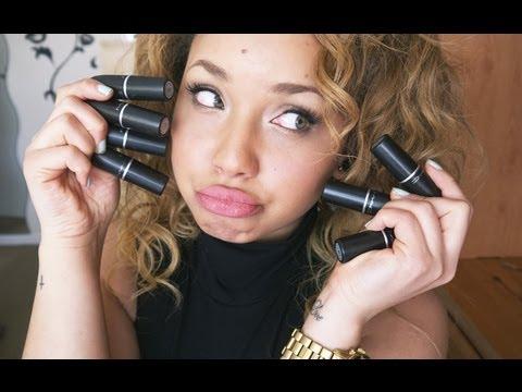 Top 10 MAC lipsticks + Dupes - YouTube Mac Please Me Dark Skin