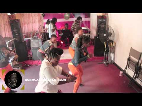 Cindy Sesa Performance Rehearsal  Jukebox - East Legon-accra video
