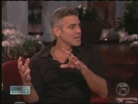 George Clooney Interview At Ellen Show 1/19/2009- Part 1 (HQ) Video