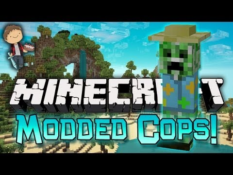Minecraft: Modded Cops n' Robbers! w/Mitch & Friends - Tropical Island Tropicraft Mods!