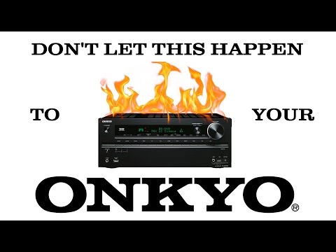 ADD DIY: How to cool your ONKYO receiver -or- Save your HDMI board and prevent the