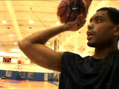 Allan Houston Nike GoPro Basketball Shooting