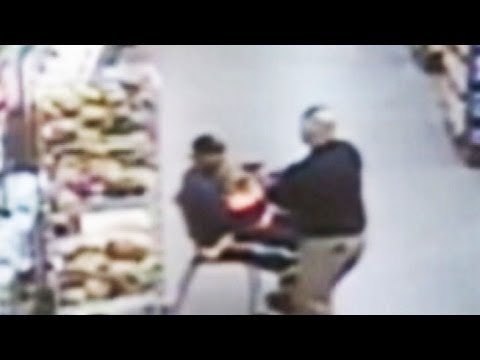 Police Officer Saves a Child From Possible Abduction at Oklahoma Walmart