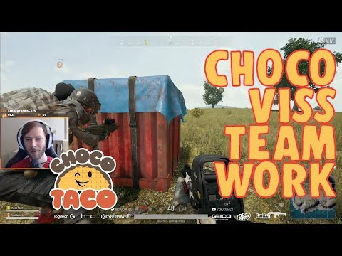 chocoTaco and Viss: The Power of Teamwork PUBG Game Recap