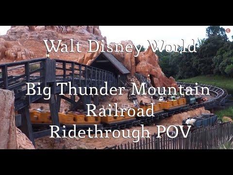 Big Thunder Mountain Railroad - Walt Disney World Ride Through POV