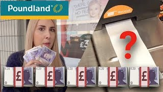 SPENDING £100 IN POUNDLAND CHALLENGE | 2018