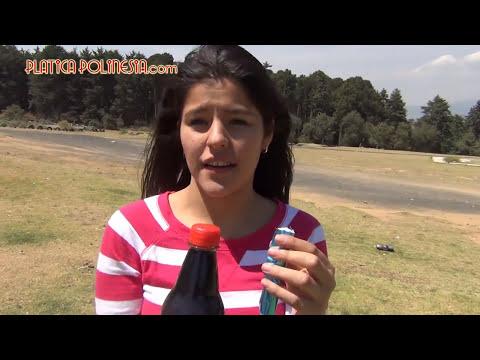 Asi se explotan los refrescos sin fuego ni cohetes ni gas. Coca Cola Light Diet Coke Zero + Mentos