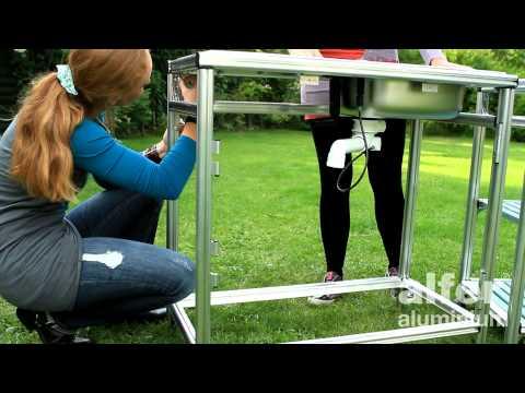 Outdoor Küche Günstig Selber Bauen : Die handwerkerbrigade: outdoor küche selbst bauen mdr um 4 mdr