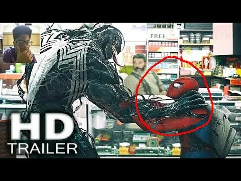 TAYORE REACTION- Reacting To Spider-Man Vs. Venom 'Stryder HD' Trailer!!! 😱😱😱