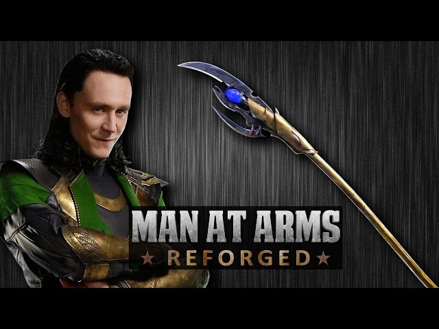Chitauri Scepter AKA Loki's Staff (The Avengers) - MAN AT ARMS: REFORGED