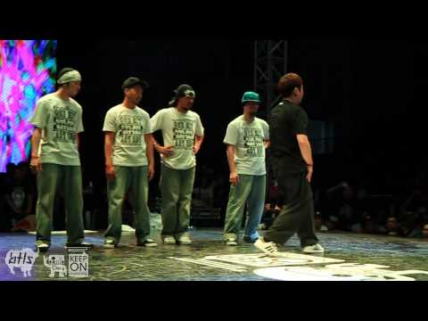 Japan vs Korea | POPPING Crew Battle | KOD Asia Cup | Beijing, China