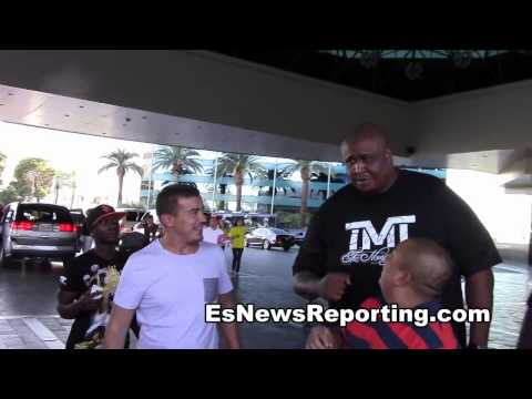 Floyd Mayweather rolling with TMT's The Great Wall - EsNews Boxing