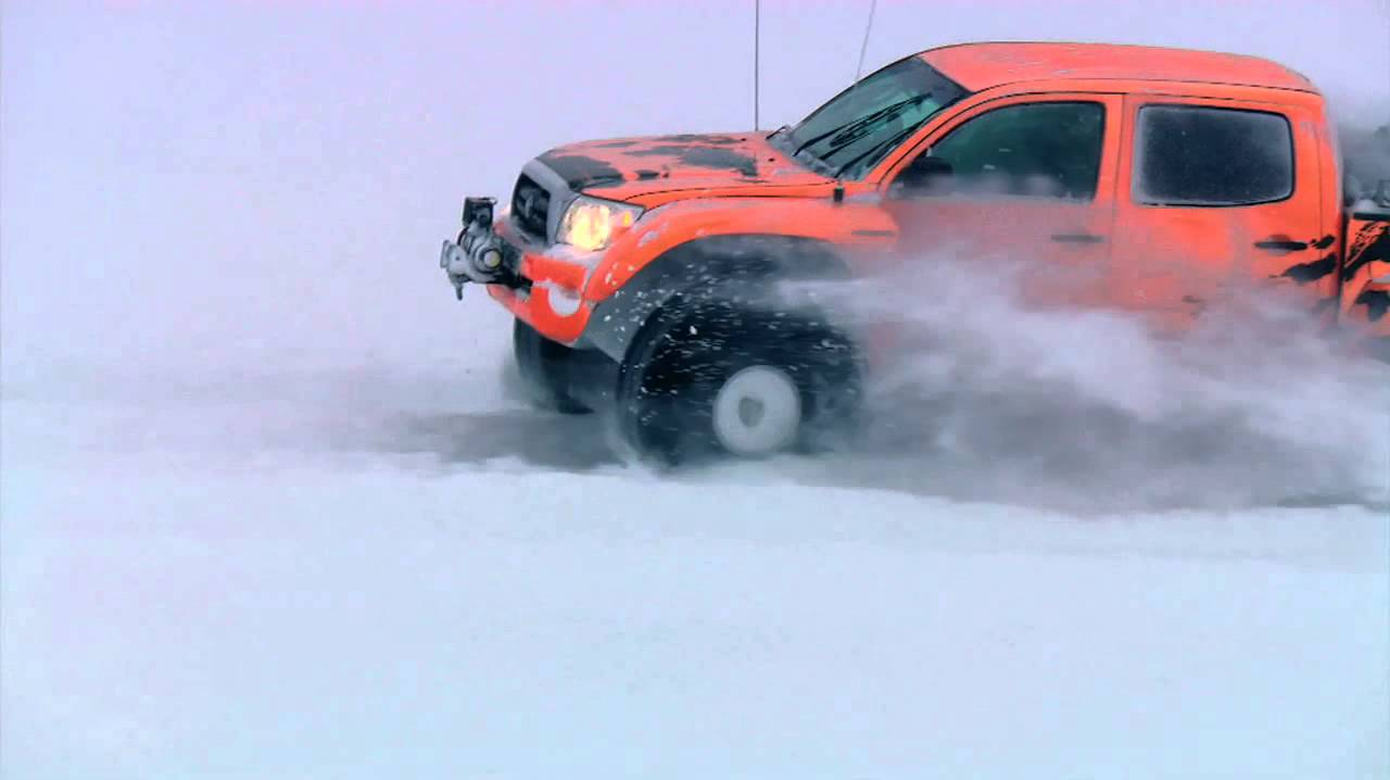 Top Gear US Iceland Special Arctic Trucks Toyota Tacoma - YouTube