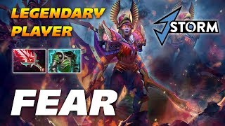 Fear Legion Commander LEGENDARY PLAYER | Dota 2 Pro Gameplay