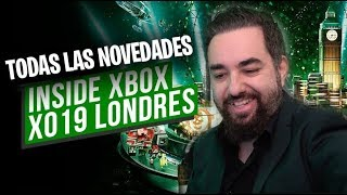 Inside XBOX X019 TODAS LAS NOVEDADES DE XBOX ONE PC Game Pass y Xcloud