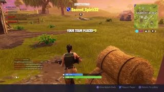 Trying out pump/tac combo Fortnite