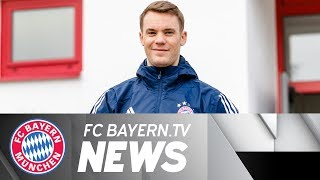 On his birthday: Neuer completes first running exercises on the pitch