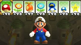 What happens when Captain Mario uses Mario's Power-Ups?