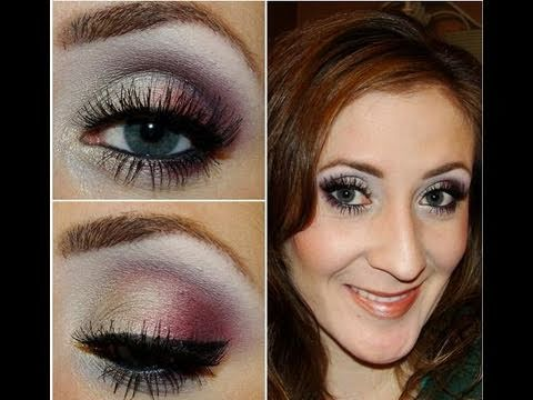 Holiday Eye Makeup Tutorial using Wet N Wild products